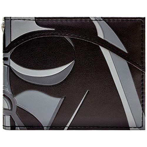 Star Wars Darth Vader Maske Nahaufnahme Schwarz Portemonnaie Geldbörse