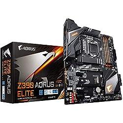 Gigabyte Z390 AORUS Elite - Placa Base (DDR4-SDRAM, DIMM, 2133,2400,2666 MHz, Dual, 16GB, 64 GB)