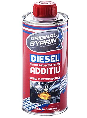 SYPRIN Original Diesel-Additiv für Dieselmotoren Dieselsystem Injektoren Diesel-Einspritzdüsen Diesel-Additive Kraftstoffadditiv Reiniger 250 ml