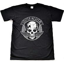 Exterior cielo envejecido negro T Shirt