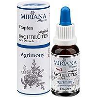 MirianaFlowers Agrimony 20ml Bachblüten Stockbottle preisvergleich bei billige-tabletten.eu