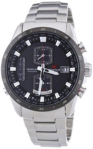 Casio Herren-Armbanduhr XL Edifice Premium Chronograph Quarz Edelstahl EQW-A1110DB-1AER
