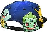 Pokemon-The-Starters-Snapback-Gorra-De-Bisbol