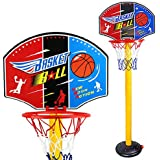 Finer Shop 63-150cm Niños del Deporte del Baloncesto Plástico Portable Tablero de Balo...