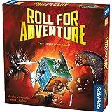 """Thames & Kosmos 692988 - Gioco da tavolo """"Roll for Adventure Of Fate Lies in Your Hand"""", 2-4 giocatori, età 10 +"""