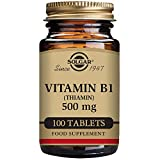 Solgar, Vitamin B1 (Thiamin), 500mg, 100 Veg.Tabletten - Vegan