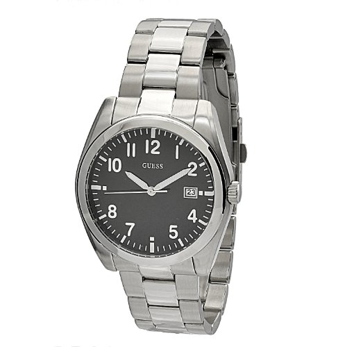 Guess Men's Analogue Watch W85082G2 with Black Dial
