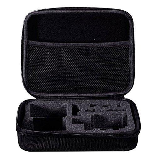 TOOGOO (R) Medium Travel Carry Schutzhuelle Tasche fuer GoPro Hero 1 2 3 3 + 4 SJ4000 Kamera (Gopro Hero 4-speicher Sd-karte)