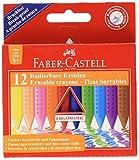 Faber Castell 244823 Pastelli a Resina Sintetica, Confezione da 12 Pezzi