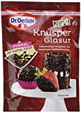 Dr. Oetker Knusper Glasur Dunkel, 1er Pack (1 x 125 g)