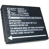 Bluetrade Batterie Haute Performance 3.7V, 940 mAh pour Panasonic Lumix DMC-FP8, Lumix DMC-FP8A, Lumix DMC-FP8G, Lumix DMC-FP8K, Lumix DMC-FP8N, Lumix DMC-FP8P