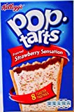 Kelloggs Pop Tarts Frosted Strawberry Sensation - 8 x 50g (3 Packs)