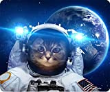 Cat In Space Dick Mousepad von Atomic Markt