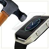 EXINOZ® Fitbit Blaze Protecteur d'Écran en Verre Trempé I Protection Haute Qualité avec 1 an Garantie de Remplacement I Obtenez le meilleur pour votre Fitbit Blaze Smart Watch (1 Pack)