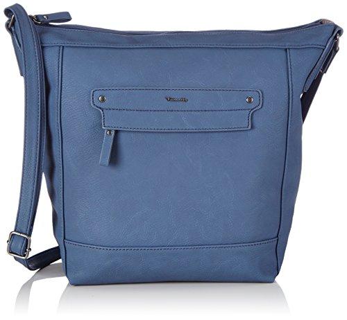 Tamaris EFFIE Hobo Bag 1250151-805 Damen Schultertaschen 26x33x12 cm (B x H x T), Blau (navy)