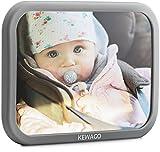 Rücksitzspiegel für Babys von Kewago. Babyspiegel für den Rücksitz in Cool Gray