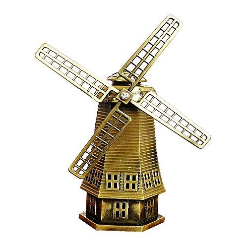 die niederlaendische Windmühlen Dekorationen, aus Metall, dutch pastoraler Stil, Büro & Heim-Kunstwerk entspannen (Patent-symbol)