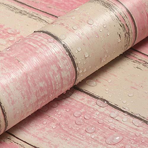 Dormitorio impermeabile a prova di umidità per carta da parati dalla camera da letto retro rosso 4962