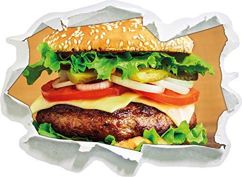 hamburgers-mcdonalds-cheeseburger-hamburger-viande-a-manger-taille-dautocollant-de-mur-3d-de-papier-