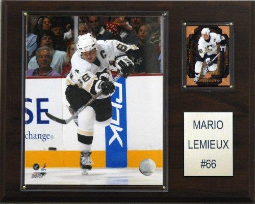 C & I Collectables NHL Mario Lemieux Pittsburgh Penguins Player Plaque