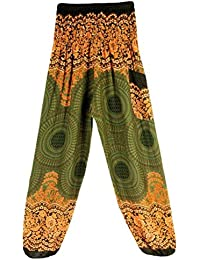 b8b575bcbc09f Leggings De Mumuj pour Femmes Sports Thai Pants Ocasional Harem Festival  Boho Hippy Smock Pantalon De