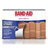 Best Band-Aid Adhesive Bandages - Band-Aid Brand Adhesive Bandages, Tough Strips, 60 Count Review