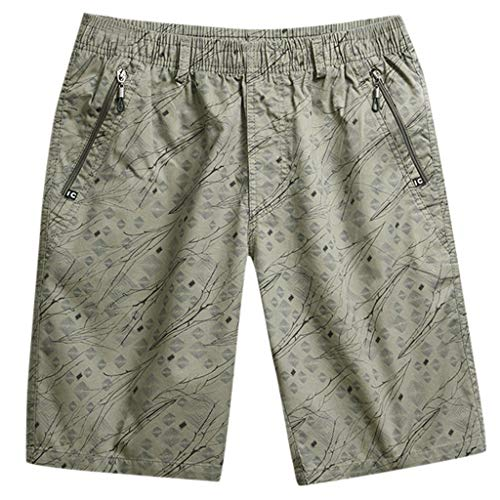 Eaylis-herren-shorts Sommer ReißVerschlusstasche ÄSte Gestreifte Strandhose Shorts Jogginghose Overalls