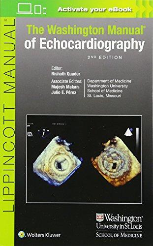 Zoom IMG-2 the washington manual of echocardiography
