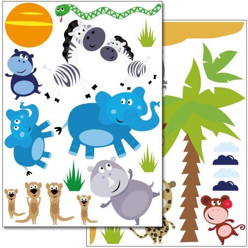 adesivi-da-parete-wandkings-safari-set-adesivi-piu-di-30-adesivi-su-2-fogli-din-a4