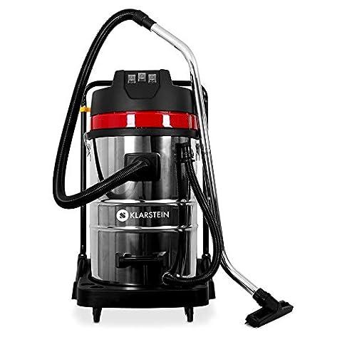 Klarstein IVC-80 Aspirateur industriel sec et humide nettoyage (pour travaux d