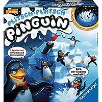 Ravensburger-21325-PlitschPlatsch-Pinguin-Kinderspiel Ravensburger Kinderspiele 21325 – Plitsch – Platsch Pinguin -