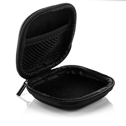 deleyCON SOUNDSTERS Universelle Kopfhörer-Tasche - Case für In-Ear Ohrhörer - Robuster Schutz für Unterwegs - integriertes Fach - für unzählige Kopfhörer passend - 4