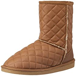 Carlton London Womens Latisha Tan Boots - 6 UK (CLL-3154)