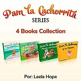Pam La Cachorrita Serie de Cuatro Libros (Libros para ninos en ...