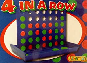Family Games : Retro Boxed Four in a Row Connect Four Type Game