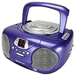 Groov-e GVPS713PE Boombox Portable CD...
