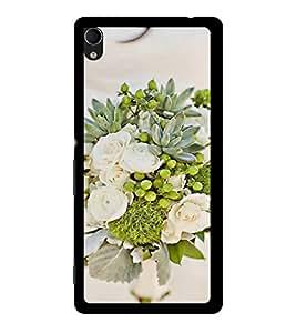 ifasho Designer Back Case Cover for Sony Xperia M4 Aqua :: Sony Xperia M4 Aqua Dual (Glory Lily HousewarmingSociality Rose Nozzle Geranium)