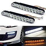 Motoeye K2 Tagfahrlicht LED Blinklicht 20 LEDs 12 V E-Prüfzeichen