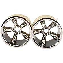 Traxxas 4174 TRX Pro-Star - Ruedas de Cromo (2 Delanteras, para neumáticos