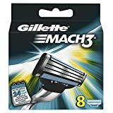 Gillette Mach3 Rasierklingen, 8 Stück