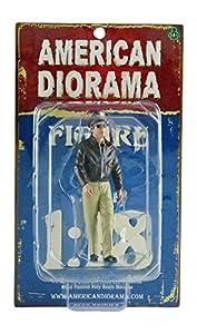 American Diorama-77422-Figura-Remembering Pearl Harbor-Escala 1/18-marrón/Beige