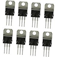 MagiDeal Surtido De Transistores De 8 piezas L7805- Serie L7824 / L79 / LM317