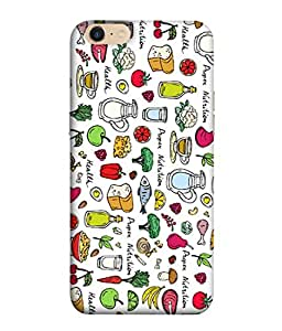 PrintVisa Designer Back Case Cover for OPPO A39 (books television charger data cable bluetooth)