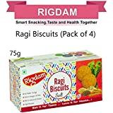 RIGDAM Stomach Filling Combo Pack | Ragi Biscuits 300 GMS|Salt Biscuits|Healthy| Natural | Tasty|Snacks Pantry|Biscuits Pantry|Ragi Biscuits|Vegan Biscuits|Pack of 4