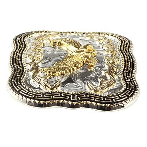 Corrosionp gürtelschnalle westlichen golden eagle verbreitung flügel gürtelschnalle für männer frauen