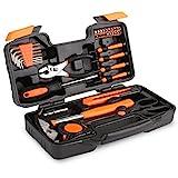 FIXKIT Werkzeugset im Koffer Werkzeugkoffer Werkzeugkasten f¡§1r den Haushaltsbereich Universal-Haushalts-Werkzeugkoffer (39 teilig)