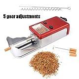 Nuevo Máquina Eléctrica para Rellenar Tubos Detabaco Entubar Montar Cigarrillos Nueva Automáticamente Máquina De Llenado De Cigarrillos,Rojo