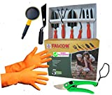 #6: Easy Gardening - Essential Garden Tools Set (Essential 9 Garden Tools Kit)
