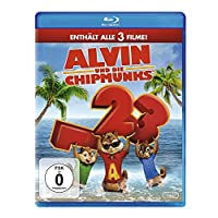Alvin und die Chipmunks - Teil 1-3 [Blu-ray]