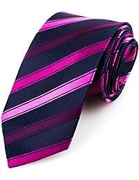 RAY±JAY Casual Business Krawatte Hochzeit 8cm x 150cm Streifen viele Designs